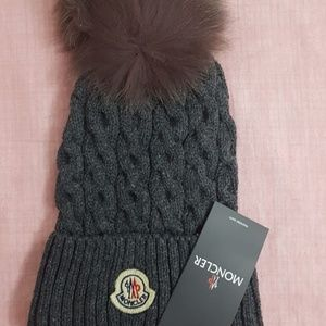 Moncler Women's Gray Hat